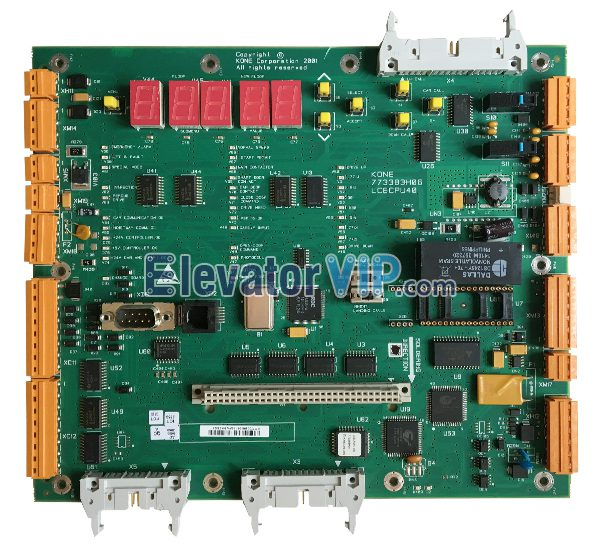 KONE Elevator Inverter Motherboard, LCECPU40, 773383H04, 773383H05, 773383H06, KM773380G04, KONE LCE CPU40, KONE Lift Inverter Mainboard, KONE Elevator ASSEMBLY Manufacturer, KONE Elevator PCB Board Supplier, Original KONE LCECPU40 for Sale, Cheap LCECPU40 Bord with Factory Price