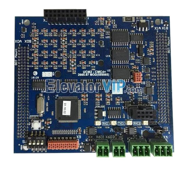 Thyssenkrupp Elevator PCB Board, Thyssenkrupp Lift Printed Circuit Board, UCM2-CMC4+, Thyssen CMC4+ Board, Thyssen UCM2-CMC4+ with Factory Price, Cheap UCM2-CMC4+ for Sale