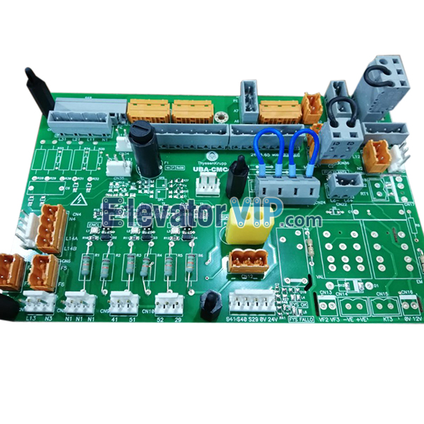Thyssenkrupp Elevator CMC4 Board, Thyssenkrupp UBA-CMC4, Thyssen UBA-CMC4 Supplier, UBA-CMC4, Thyssen Plate Terminal Unit Board, Thyssen Lift PCB Board, Cheap Thyssenkrupp Printed Circuit Board for Sale