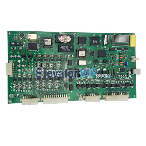 SIGMA Elevator Main Board, SIGMA MCB-2003, MCB-2003, MCB-2003 Rev1.6, MCB-2003 Rev1.5, MCB-2003 Rev1.2 Board, Fuji Inverter PCB Board, LG Lift MCB-2003 Motherboard, EMA PCB Board, MCB-2003 Elevator Board, Cheap SIGMA PCB Board, LG Elevator Motherboard for Sale