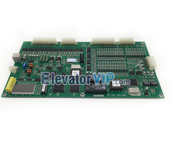 Hosting Elevator EMA PCB Board, Fuji Inverter PCB Board, Hosting Elevator PCB MCB-2003 Rev 1.6, LG Elevator Motherboard for Sale, LG Lift MCB-2003 Motherboard, MCB-2003, MCB-2003 Elevator Board, MCB-2003 Rev 1.2 Board, MCB-2003 Rev 1.5, MCB-2003 Rev1.6, SIGMA Elevator Main Board, MCB-2003 Board in Malaysia