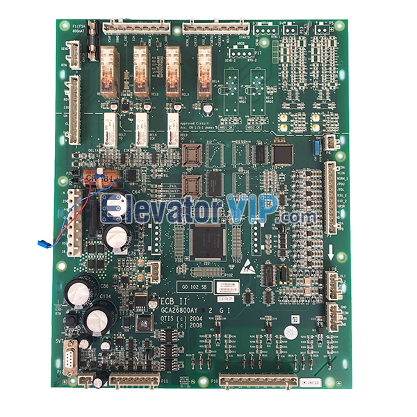 OTIS Escalator ECB-II Mainboard, OTIS Escalator ECBII PCB Board, Escalator Controller Board ECB_II, GDA610ZM1, GEA610ZM1, GCA26800AY1, GCA26800AY2, GDA26800AY1, OTIS ECB_II Board for Sale