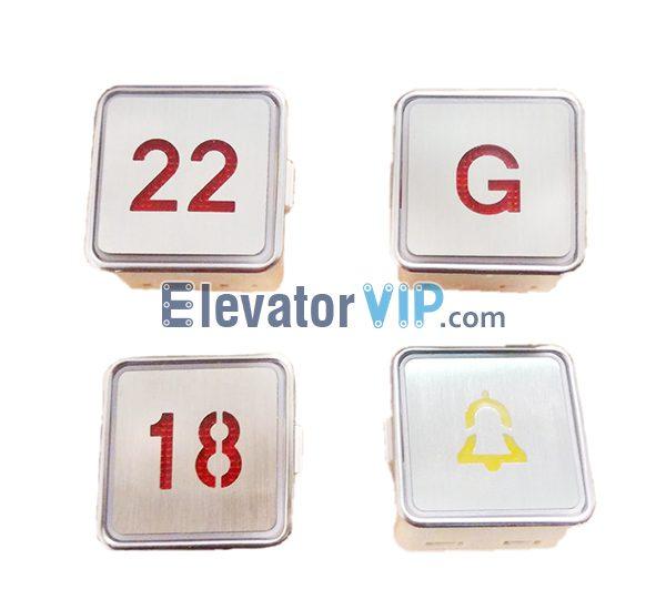 Thyssen Elevator Lop Push Button, Fuji Lift Square Push Button, Elevator Square Push Button, AK-1 Push Button, MT42 Push Button, MTD270, Elevator Stainless Steel Push Button, Lift Push Button Size 33*33, Elevator Braille Push Button, KA301 Push Button, KA105 Square Push Button, Elevator Push Button Manufacturer, Cheap Lift Push Button with Factory Price, Fuji Push Button Supplier
