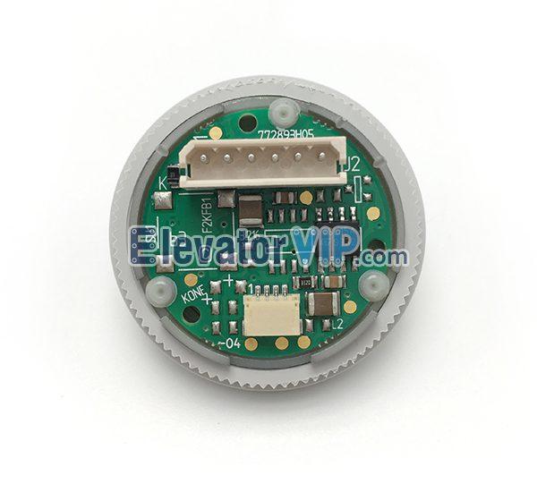 Kone Elevator Landing Push Button, KONE Lift HOP Push Button Base with White Light, KONE Elevator LOP Push Button Red Light, Kone Push Button Connection Cable, KM772810G01, F2KFB1, F2KFB2, 772893H05, 772903H05