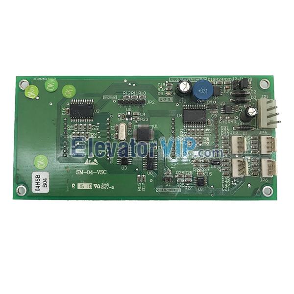 STEP Elevator Display Board, STEP Display PCB Motherboard, SM-04-VSB, SM-04-VSC, SM-04-VSD, Lift Display Panel, STEP Display Mainboard, STEP Display Board Universal Protocol, STEP Display Board Supplier