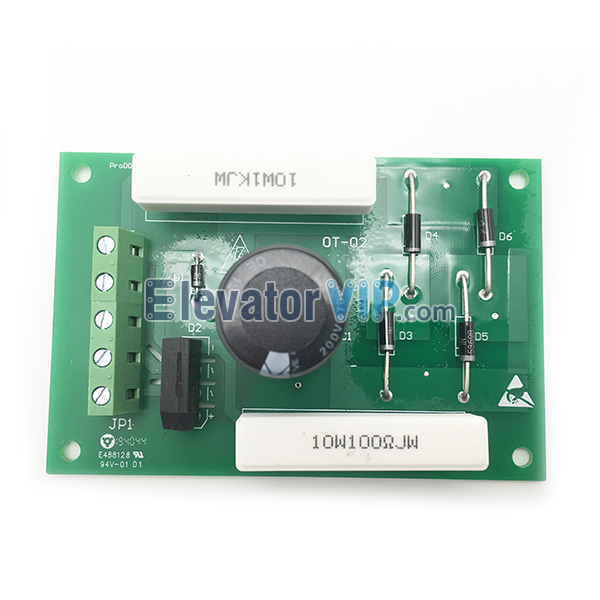STEP Elevator Timed Circuit Delay Board, Timed Elevator Circuit Board, Elevator Circuit Delayed PCB Board, Lift Seal Star Motherboard, STEP Timed Delay Board, Elevator Circuit Delayed Board, Elevator Circuit Delayed Board Supplier, E154554, SH-A 94V-0, STEP OT-02 Board, E488128, 94V-01 D1 Motherboard