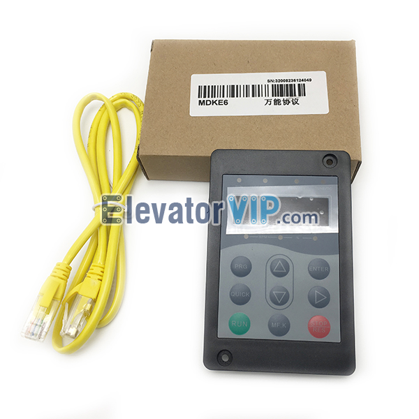 MCTC-OPR-A, Monarch Testing Tool, Monarch NICE3000+ Keypad, Monarch Universal Protocol Debugger, Monarch Elevator Inverter Keypad, Monarch Lift Service Tool, Mctc-Opr-Mdke6, GPS-33E63E, MDKE6, MDKE, Monarch Inverter Service Tool Supplier