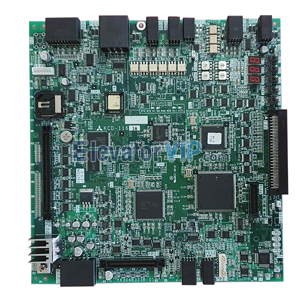 Mitsubishi MRL Elevator Board, Mitsubishi MRL SMR Elevator Motherboard, Mitsubishi SMR Elevator Motherboard Supplier, KCD-1161A, KCD-1161B, KCD-1161C, KCD-1161D, YX304B323B-01, Mitsubishi Lift KCD-116 Serial P1 Main Board, Mitsubishi Elevator P1 Board with Factory Price, Mitsubishi KCD-116 P1 Board in UAE, Mitsubishi KCD-116 P1 Board in Bahrain