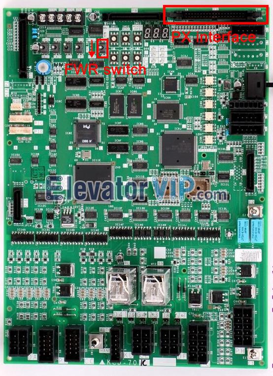 Mitsubishi KCD-701C Motherboard, Mitsubishi Elevator KCD-705C Board, Mitsubishi KCD-702C, Mitsubishi KCD-703C PCB Board, Mitsubishi Lift KCD-704C Main Board