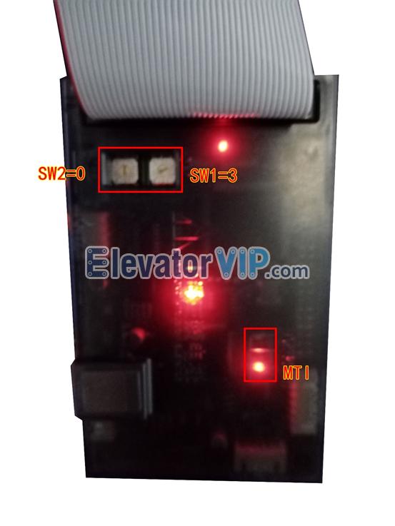 Mitsubishi Elevator MC Card MTI Indicator Light, Mitsubishi Elevator MTI Card Tool