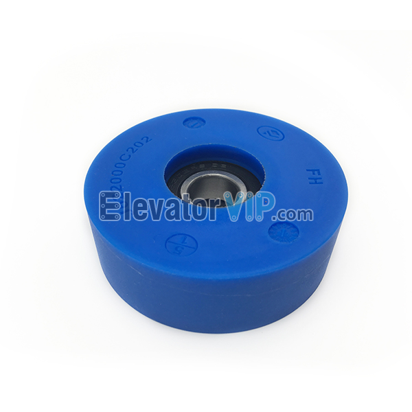 Escalator Step Roller, Mitsubishi Escalator Step Roller, Mitsubishi Escalator Roller, Escalator Step Roller Blue, 76*25*6202RS, J622000C202, 76*25-6202 RS, Escalator Step Roller Manufacturer, Mitsubishi Escalator Step Roller Supplier in USA, Cheap Escalator Step Roller Factory Price with High Quality, Wholesale Escalator Step Roller, Jufeng Escalator Step Roller