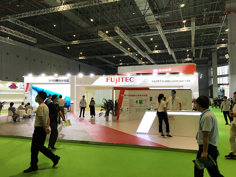 FUJITEC Brand in 14th World Elevator & Escalator EXPO 2020