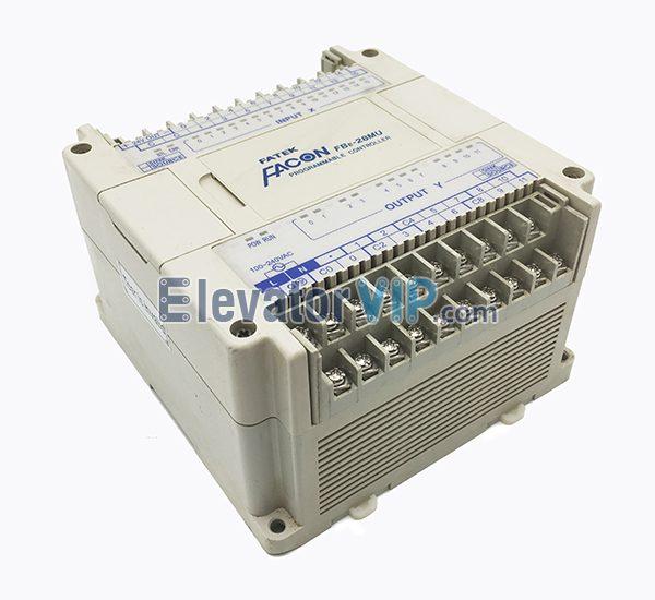 FATEK PLC, FATEK FBE-28MU Module, FBE-28MU, FBE-28MUT, FBE-28MU Programmable Controller, FBE-28MU PLC Programming Cable, Fuji Elevator Logic Controller, FATEK PLC Supplier, Cheap FATEK PLC with Factory Price, USB-FB-232P0-9F, FATEK RS232 Adapter