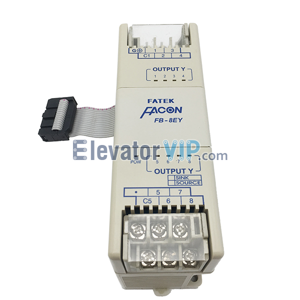 FATEK PLC Digital Expansion Module, FB-8EY, FB-8EX, FATEK FACON Expansion Module, Elevator Logic Programmable Controller, FATEK PLC Supplier, Cheap FATEK Expansion Module with Factory Price, FB-8EY PLC Used for Packing Machine in Bishkek Kyrgyzstan, FB-8EY Expansion Module Used for Packer