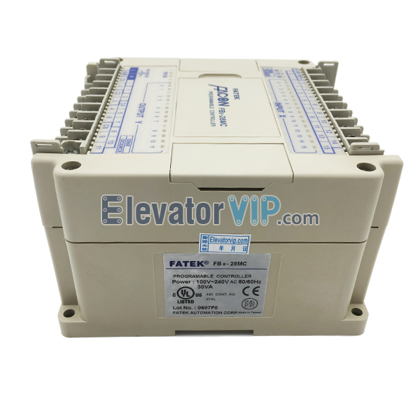 Original FATEK Programmable Controller, FATEK Logic Programmable Controller, FATEK PLC Module Supplier, FBE-28MC, FBE-28MU, FBE-28MA, Elevator PLC Controller, FATEK PLC for Industrial Automation, FBE-28MC PLC Used for Packing Machine in Bishkek Kyrgyzstan, FBE-28MC PLC Used for Packer, Cheap FATEK PLC with Factory Price