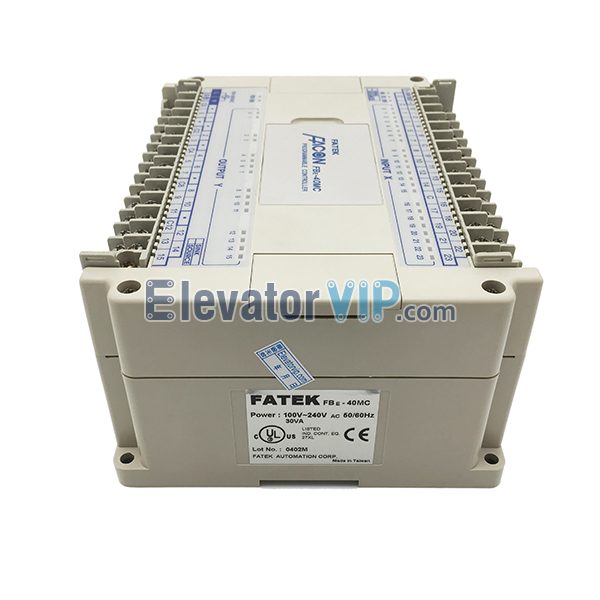 FATEK FACON Programmable Controller, Original FATEK PLC Supplier, FBE-40MC, FBE-40MA, FBE-40MU, FATEK Elevator PLC, Industrial Packer PLC, Industrial Logic Programmable Controller, FBE-40MC PLC Used for Packing Machine in Bishkek Kyrgyzstan, Cheap FBE-40MC PLC with Factory Price