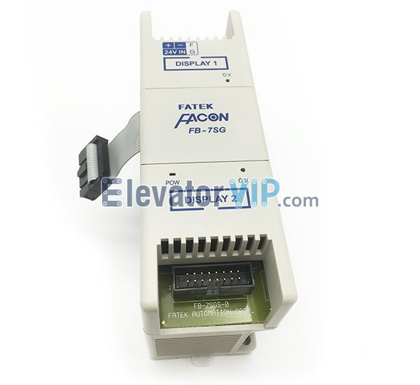 FB-7SG, FB-7SG2, FATEK PLC Expansion Module, Elevator PLC Controller, FATEK Digital Expansion Module, FATEK Programmable Controller Used for Elevator, FATEK PLC Supplier, FATEK Expansion Module in Bishkek Kyrgyzstan, Cheap FATEK Expansion Module FB-7SG for Sale