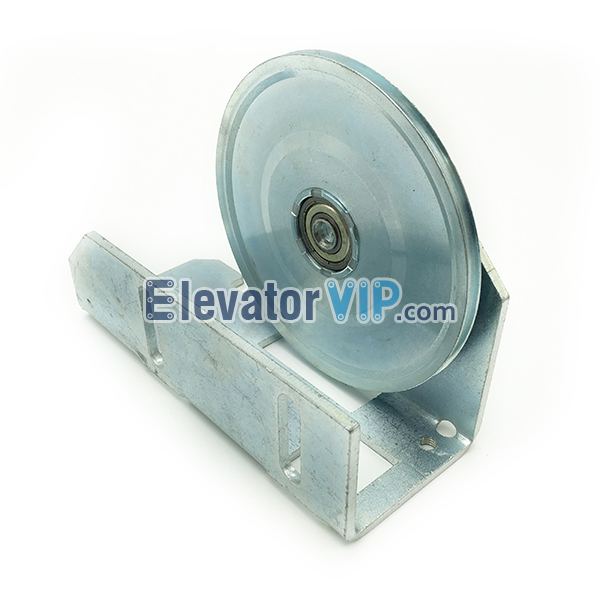 Elevator Door Rope Guiding Pulley, KONE Elevator Door Rope Pulley, KONE Lift AMD Door Rope Roller, KONE Steel AMD Diverting Pulley, Kone Door Operator Rope Pulley, KONE Elevator Door Rope Pulley 114mm, Elevator Door Rope Pulley Supplier, KONE Lift Door Rope Pulley in India, Kone Elevator AMD Door Rope Pulley Bracket