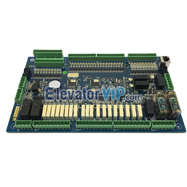 ThyssenKrupp Escalator Diagnostic Board, ECT-01-A, ThyssenKrupp Escalator Control Board, Thyssen Escalator Expansion Mainboard, Escalator Diagnostic Board in India, ThyssenKrupp Escalator PCB Board Supplier