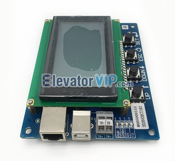 ThyssenKrupp Escalator Service Tool, Thyssen Escalator Diagnostic Tool, ThyssenKrupp Escalator Test Tool, Thyssen Escalator Debugger, Thyssen Escalator Error LCD Display Card, ECT-01-D, ECT-01-A Board Testing Tool, Escalator Service Tool Supplier, Thyssen Escalator Testing Tool in India