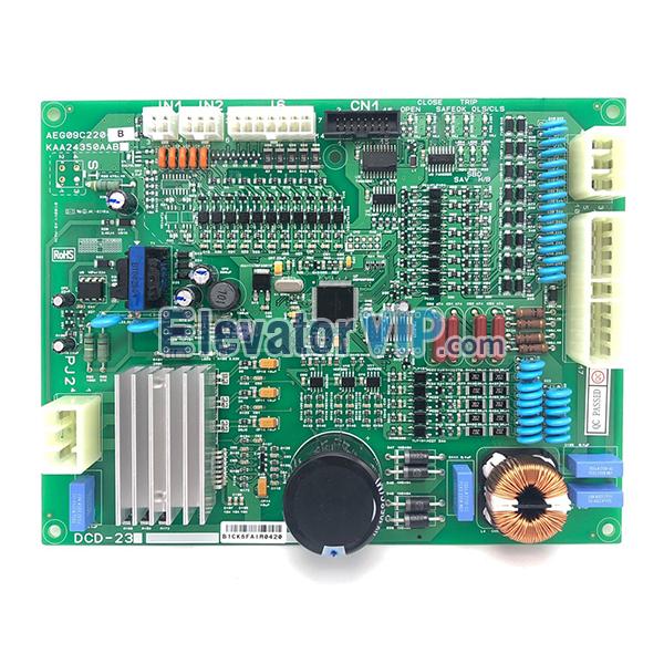 Sigma Elevator Door Motor PCB, LG-Otis Lift Door Motor Control Board, DCD-23, DCD-230, KAA24350AAB, AEG09C220B