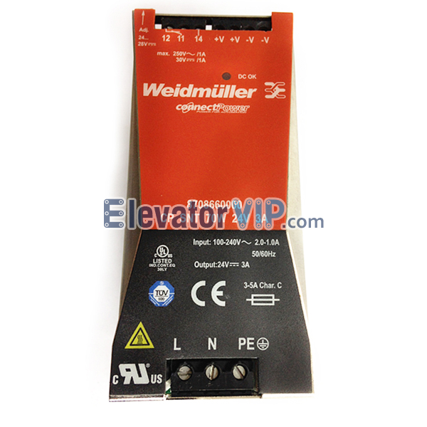 Weidmuller 8708660000, Weidmuller Power Supply, Weidmuller Connectpower, 8708660000, Weidmuller Power Supply Supplier