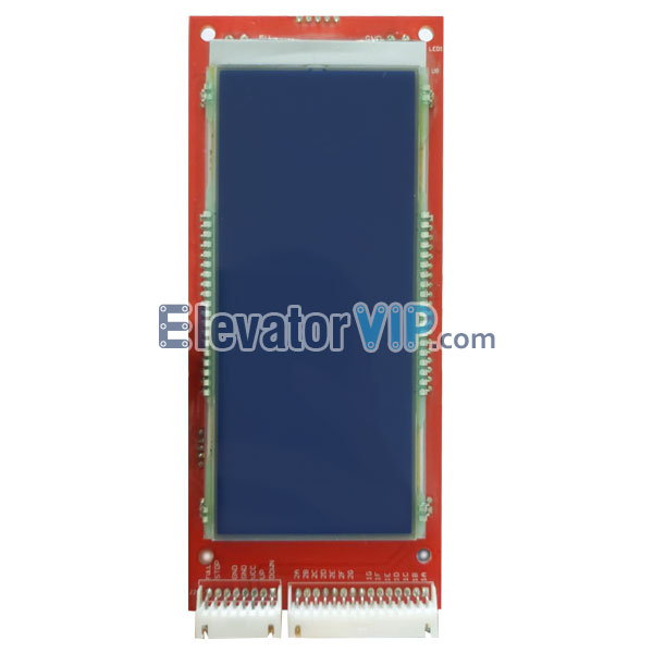 Elevator LCD Display, Lift Blue LCD Horizontal Display, A3J16970, A3J16978, Cheap Elevator LCD Display Supplier, Elevator LCD Display in Dubai UAE