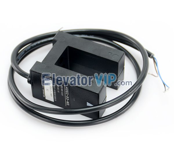 Fujitec Elevator Leveling Sensor, Elevator Leveling Sensor, Lift CNC Leveling Switch, TOYO Leveling Sensor, Elevator Groove Photoelectric Switch, ADS-83-W3, ADSC-83-W3, Elevator Leveling Sensor Supplier