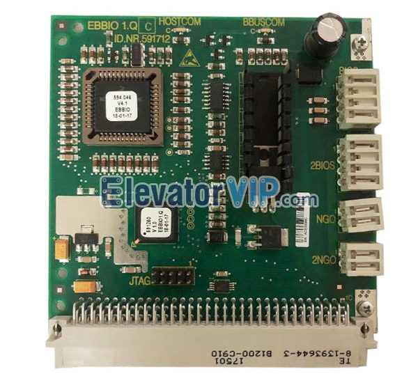 HOSTCOM, BBUSCOM, Elevator Cabin Communication Board, Elevator Car Communication PCB, ID.NR.591712, EBBIO1.QC, Elevator Car Communication Board Supplier