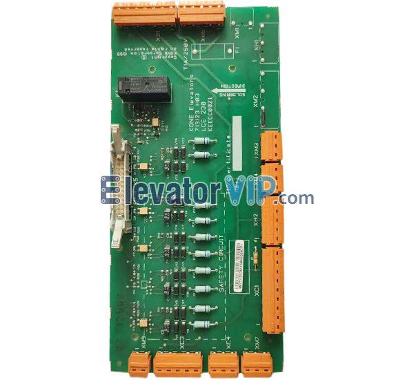 KONE Elevator PCB LCE 230, LCE230, KONE Elevator Board, KEECC0021, 713123H03, KM713120G02, KONE Elevator PCB, KONE Lift Safety Circuit Motherboard
