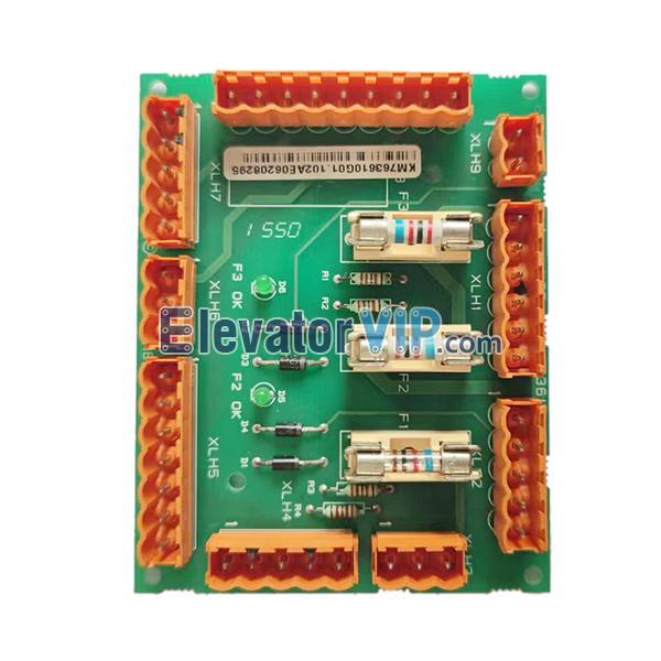 KONE Elevator Safety Circuit Board, KONE Lift LCE230 PCB, LOP-230 Board, KM763610G01, KM763610G02, 763613H01, KONE Elevator Motherboard