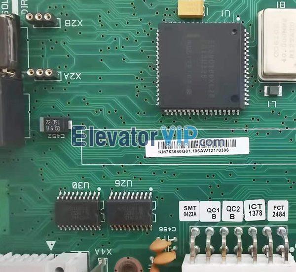 KM763640G01, KM763643H02, KM763643H03, KM763643H04, KONE Elevator LCECPUNC Motherboard, KONE MRL Lift CPU Board, KONE V3F18 Board, KONE Elevator PCB Board Supplier