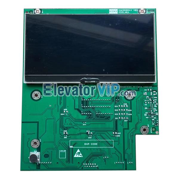 KONE Elevator LCD Display, KONE Lift Display Board, KM1368843G02, Elevator LCD Display PCB Supplier