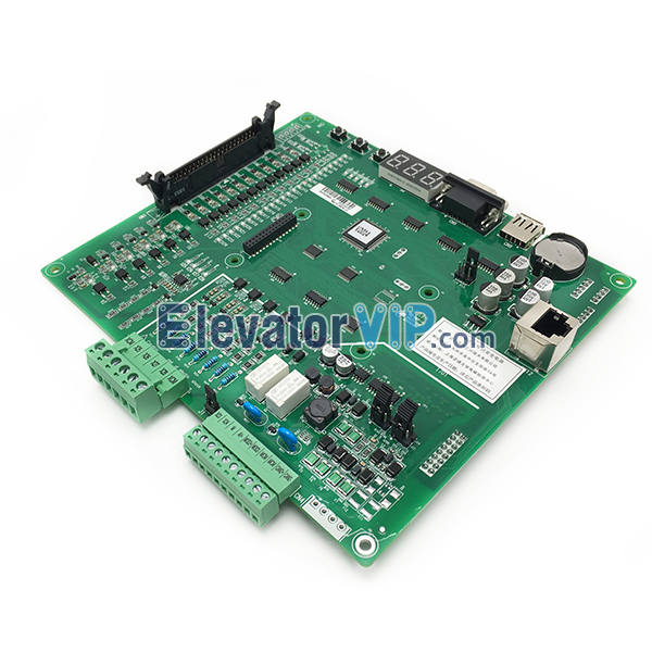 Monarch NICE3000+ Elevator Inverter Control PCB, Monarch NICE3000 Integrated Drive Main Board, Monarch Lift Control Circuit Board, Monarch Elevator PCB Supplier, MCTC-MCB-C3, Monarch Elevator Control Motherboard in Malaysia