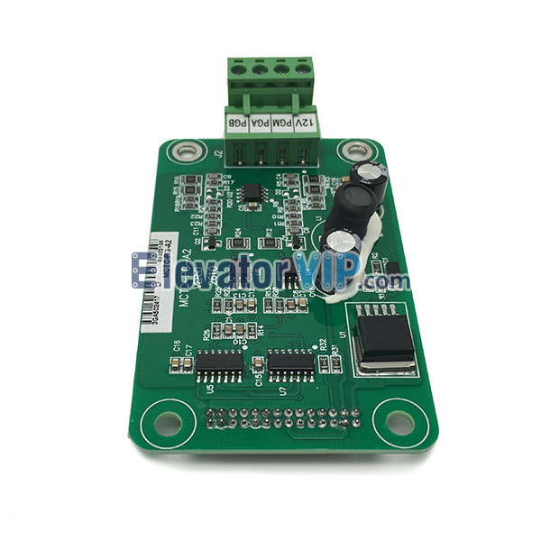 MCTC-PG-E, MCTC-PG-A2, Monarch Elevator Asynchronous Drive PG Card, Monarch Synchronous PG PCB, Monarch NICE3000 Inverter PG Card, Monarch PG Card Supplier in Malaysia