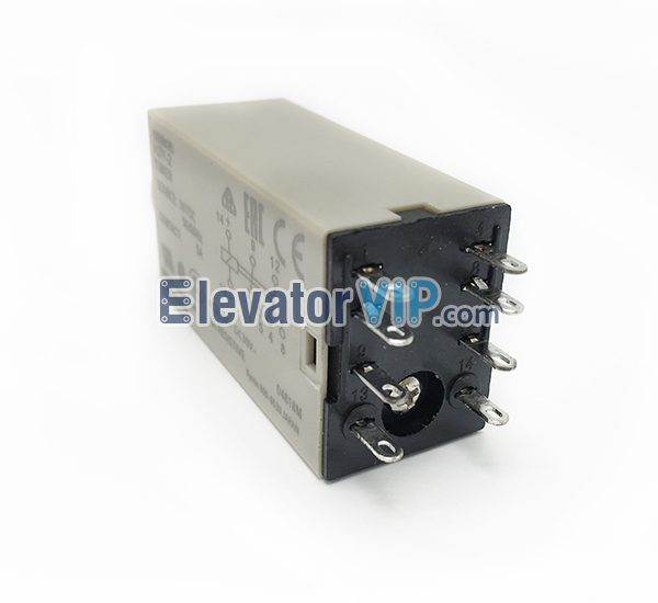 OMRON Delay Relay, H3Y-2 Timer Relay, OMRON Relay 24VDC, OMRON Relay 8-Pins, Time Relay Supplier, PYFO8A-E Relay Socket