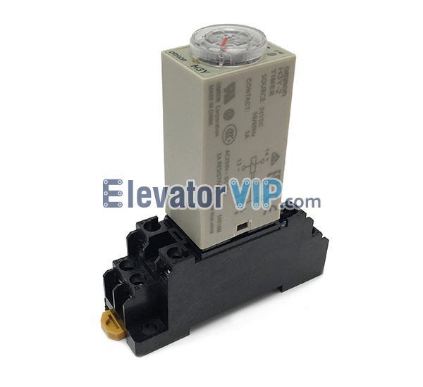 OMRON Delay Relay, H3Y-2 Timer Relay, OMRON Relay 24VDC, OMRON Relay 8-Pins, Time Relay Supplier, PYF08A-E Relay Socket