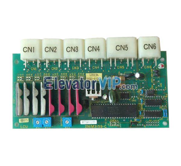 UCE1-113C3, UCE1-113C4, 2NIM3159-C, 2NIM3159-B, LCU13A, Toshiba Elevator Hoistway Communication PCB
