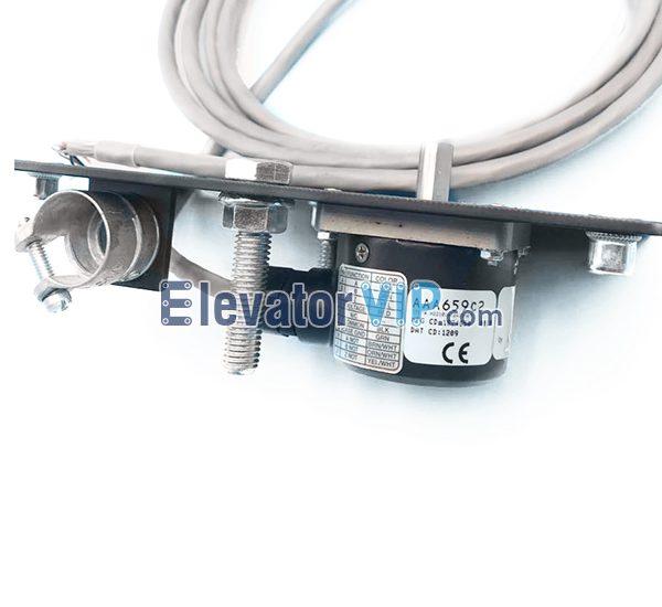 OTIS Elevator Tractor Encoder, Dynapar BIDIRECTIONAL Encoder, OTIS Lift Rotary Encoder, AAA659C2, AAA659C3, AAA659C4, H22102410421H87