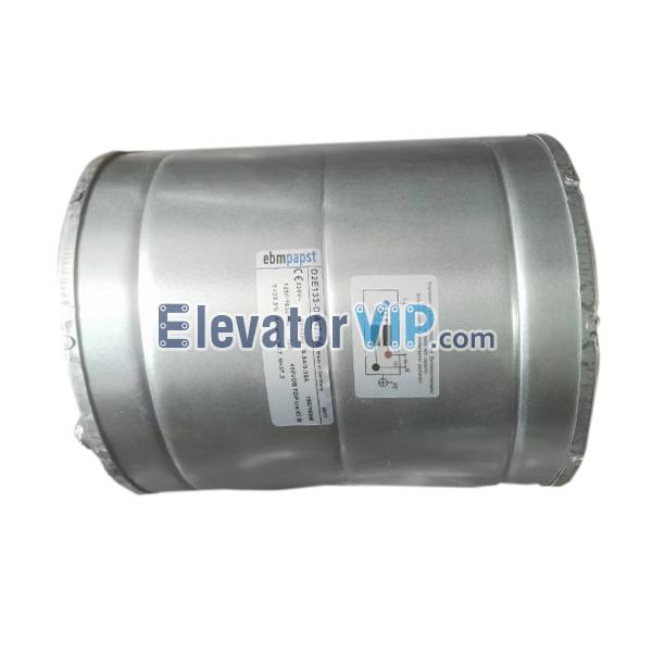 KONE Elevator Fan, KONE MX18 Gearless Machine Fan, Ebmpapst Fan Supplier, D2E133-DM47-E6, KM255063, D2E133-DM47-84, D2E133-DM47-23, D2E133-DM47-54, D4E133-AA01-44