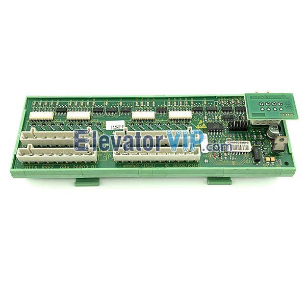 OTIS Escalator Parts PCB, RSFF, GBA26803B1, Otis Escalator Lift Spare Parts, OTIS Escalator PCB Board RSFF