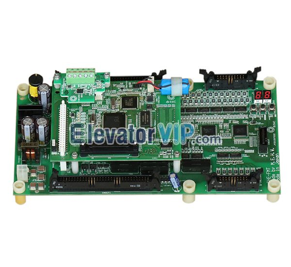 Hitachi Elevator Control PCB, Hitachi Lift Master Board, GHE-FMT, 2NCPU Board, Hitachi GVF-2 PCB, GVF2 NPH Motherboard