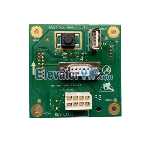 OTIS Elevator PCB, HAA26800AV1