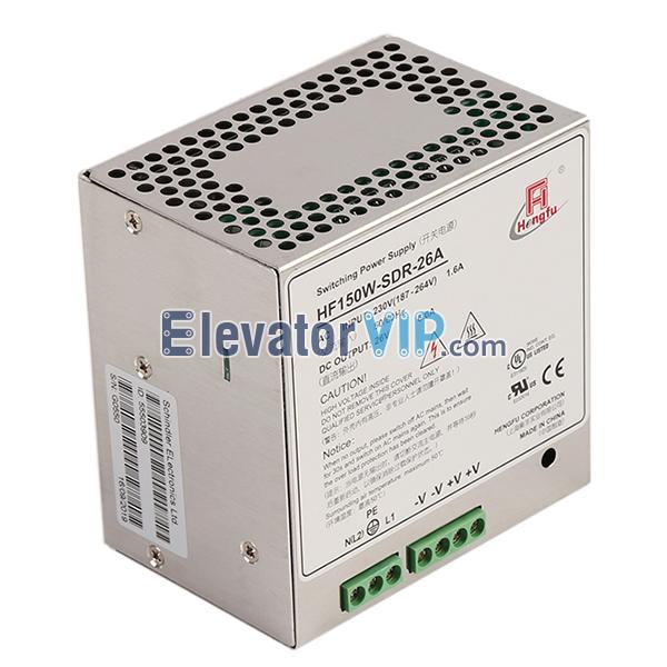 Elevator Control Cabinet Power Supply, HF150W-SDR-26A, HF150W-SDR-24B