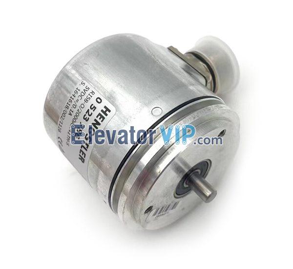 Hengstler 0523786 Elevator Encoder, 0523786 Elevator Incremental Encoder, Hengstler Incremental Encoder Supplier, RI58-O/2000AS.41TH-S
