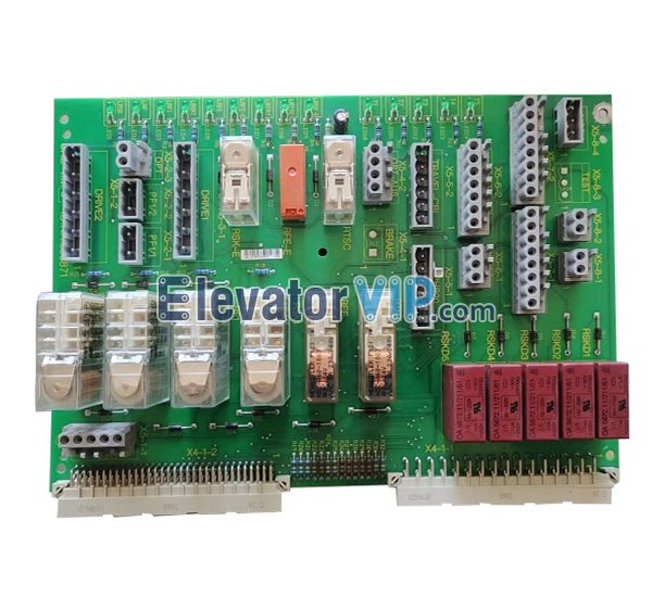 Schindler Elevator Car Roof Safety Circuit PCB, Elevator 300P SKE Board, Elevator SKE Motherboard, ID.NR.590871