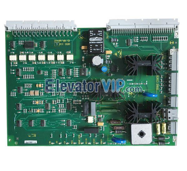 Elevator MBB 3.M Brake Circuit Board, ID.NR.591442