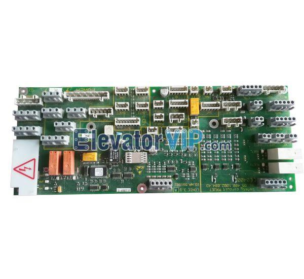 5400 Elevator Car Roof Communication Board, Elevator Inverter Interface PCB, ID.NR.591882, ID.NR.594428, ID.NR.205701, LONICE 3.Q
