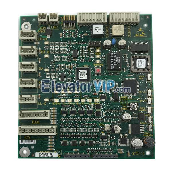 5400 Elevator Cabin Communication Board, LONCPIE1.Q, Lift Car COP PCB, ID.NR.594396, ID.NR.591572