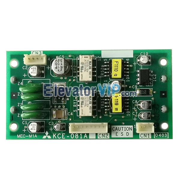 Mitsubishi GPS-3 Elevator Interphone Control PCB, Mitsubishi MRL Lift Interphone Control Board, KCE-081A